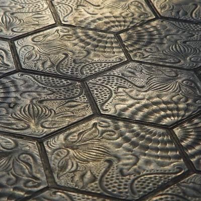 Mosaic modernista del Passeig de Gràcia  (Lluís Carro)