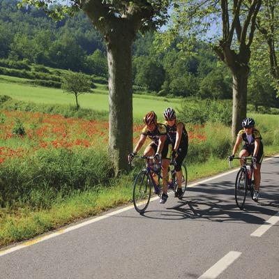 Ciclisme per carretera, prop de Moià