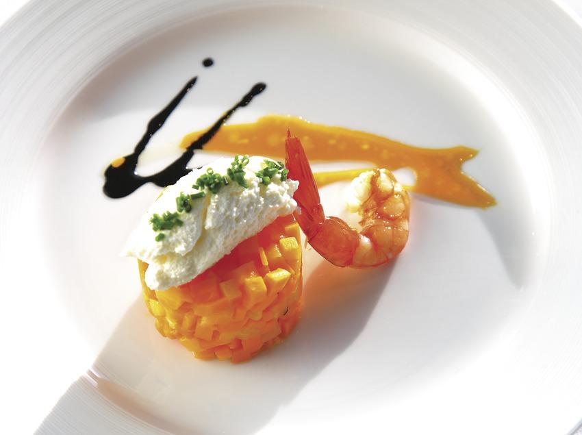 Plat de la nova cuina catalana