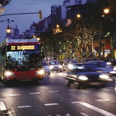 Autobús al Passeig de Gràcia  (Lluís Carro)