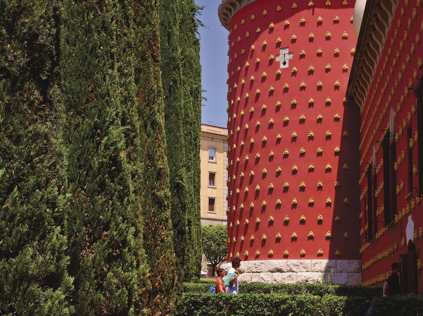 Torre del Teatro-Museo Dalí.  (Lluís Carro)