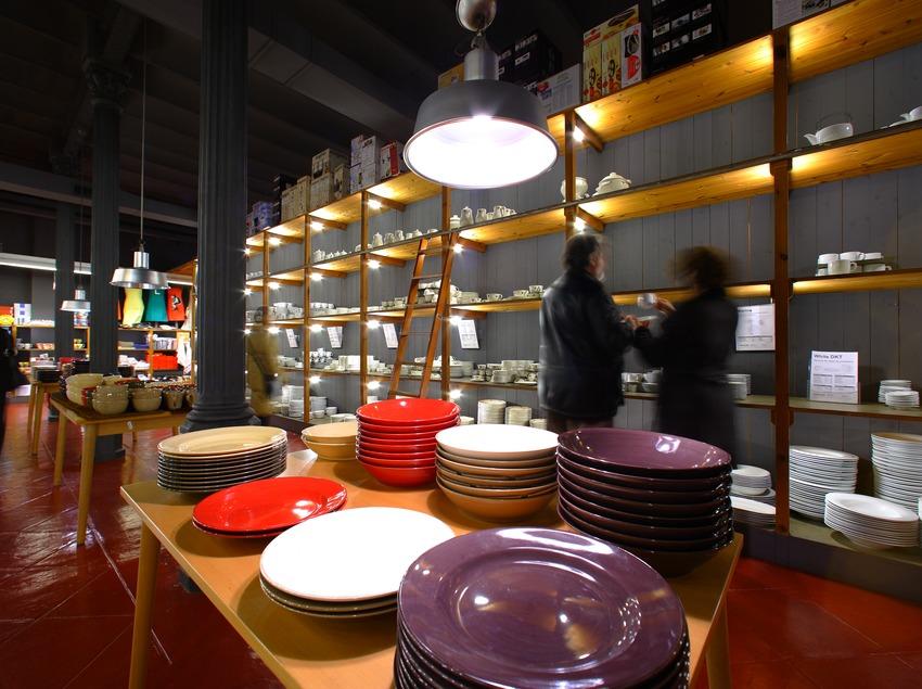 Interior de la tienda Vinçon  (Lluís Carro)