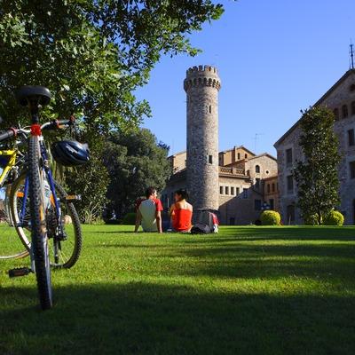 Cicloturisme a Torre Marimon  (Lluís Carro)