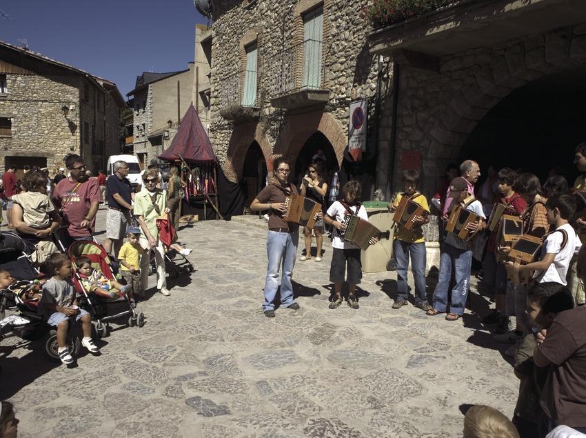 Accordéonistes à la feria de Sant Llorenç