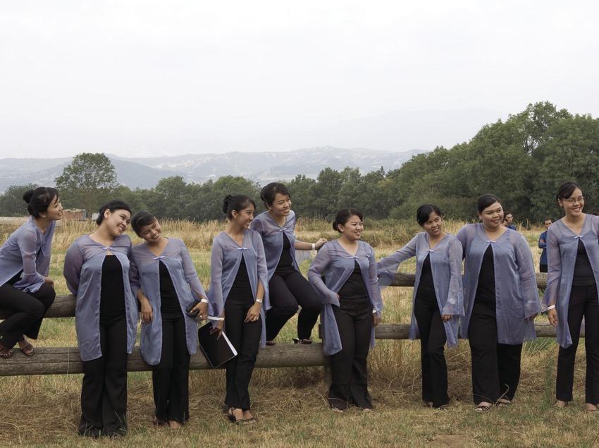 Participantes en el Festival Internacional de Música de Cantonigròs (Oriol Llauradó)