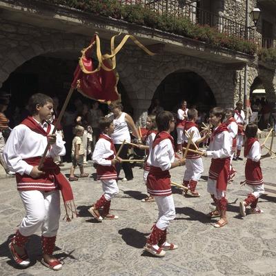 Bastoners durant la Fira de Sant Llorenç