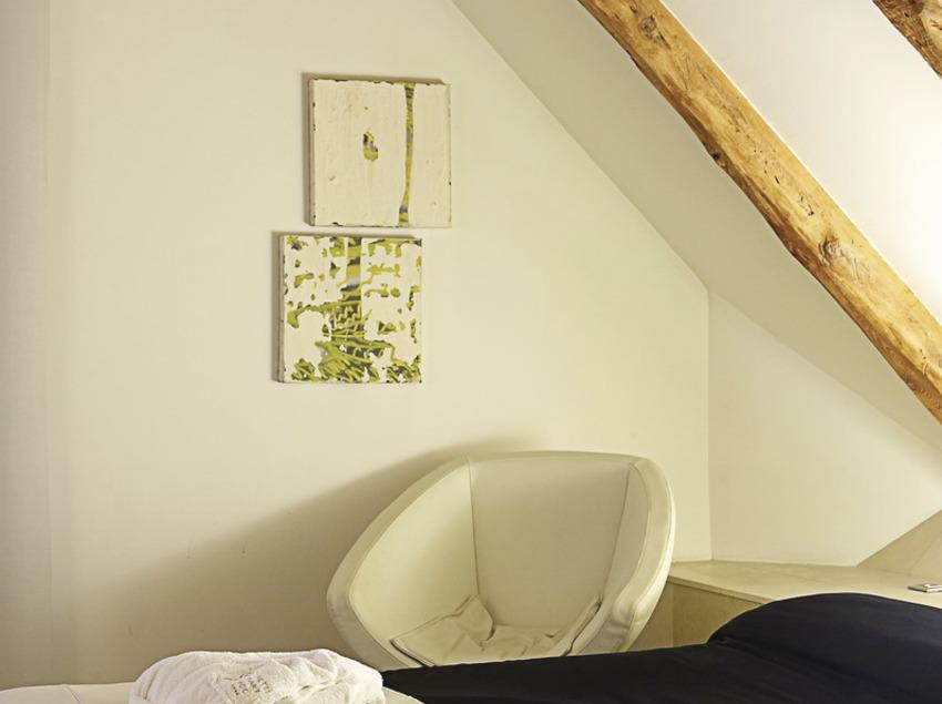 Habitació de l'hotel Sant Roc   (Imatges cedides per l'hotel Sant Roc)