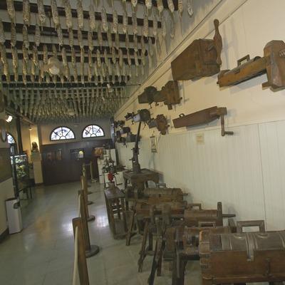 Museu de l'embotit. Visita a Castellfollit de la Roca. Workshop Pirineus 2008  (Cablepress)