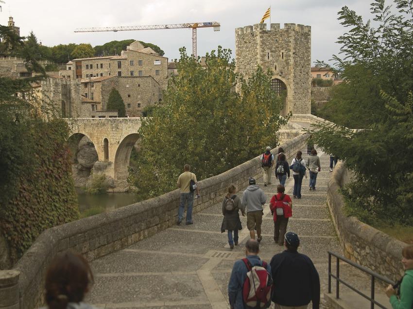 Puente medieval. Workshop Pirineus 2008