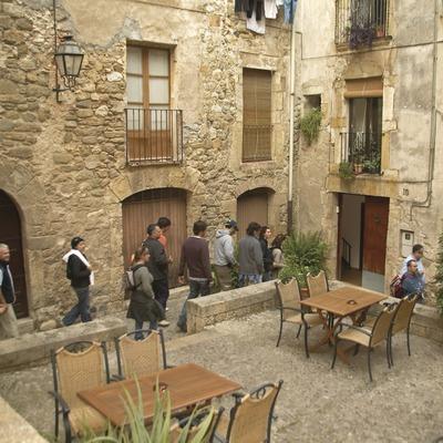 Carrer del casc antic la vila. Workshop Pirineus 2008