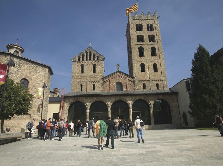 Monasterio de Ripoll. Workshop Pirineus 2008  (Cablepress)