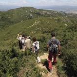 Маршрут для пеших походов по горному массиву Монтсиа