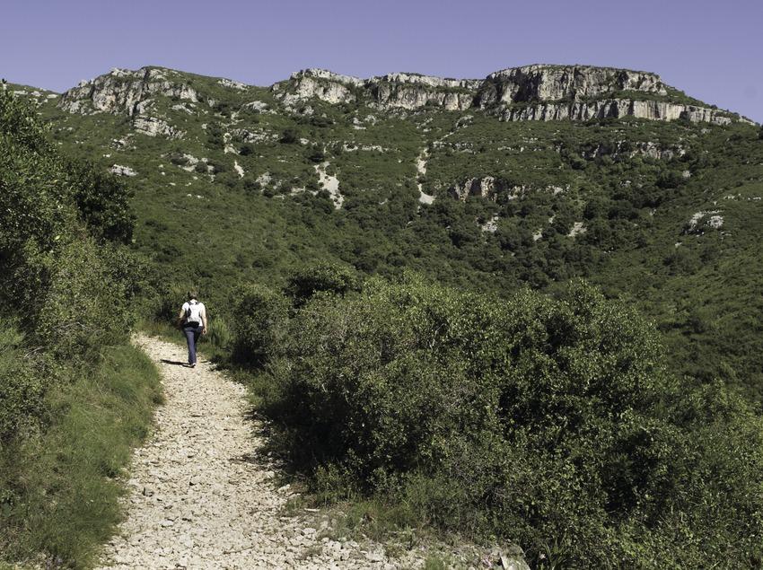 Randonnée pédestre dans la sierra du Montsià (Tina Bagué)