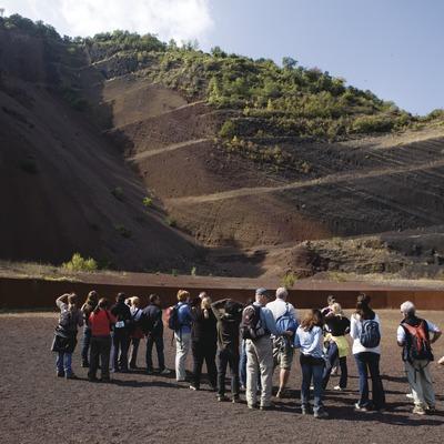 Activitats grup B. Excursió pel Parc Natural de la Zona Volcànica de la Garrotxa. Workshop Pirineus 2008  (Cablepress)