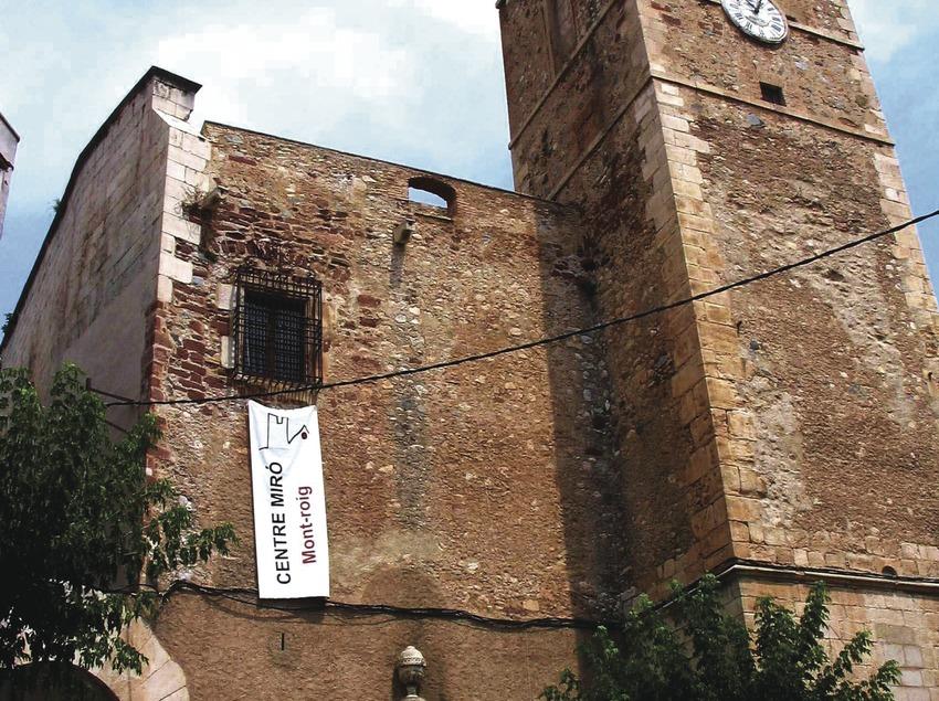 Església vella, seu del Centre Miró   (Imatges cedides pel Centre Miró de Mont-roig del C)