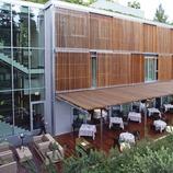 Terrassa del restaurant Abac   (Imatges cedides pel restaurant hotel Abac)