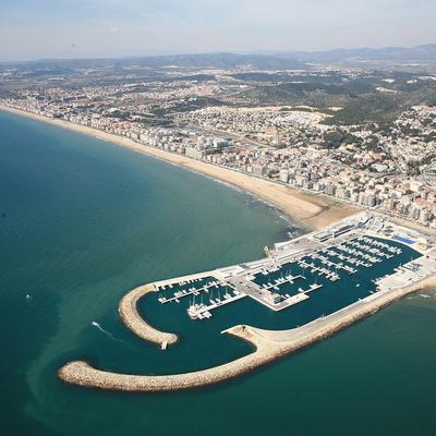 Vista aèria de Calafell   (Imatges cedides pel Patronat de Turisme de Calafell)