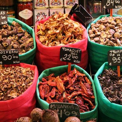 Parada del mercat de la Boqueria   (Imatges cedides per Gourmand Breaks)