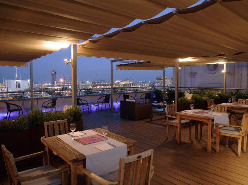 Terrassa de l'hotel Duquesa de Cardona   (Imatge cedida per l'hotel Duquesa de Cardona)