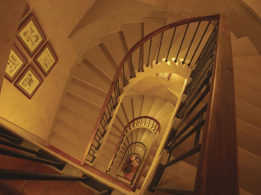 Escala de l'hotel Bremon   (Imatge cedida per l'hotel Bremon)