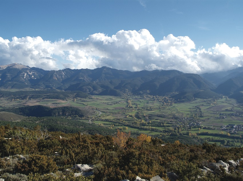 Paisatge de la Cerdanya   (Imatge cedida per Cuina Pirinenca)