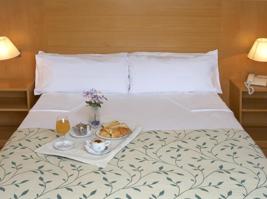 Habitació de l'hotel Terrassa Park   (Imatge cedida per l'hotel Terrassa Park)
