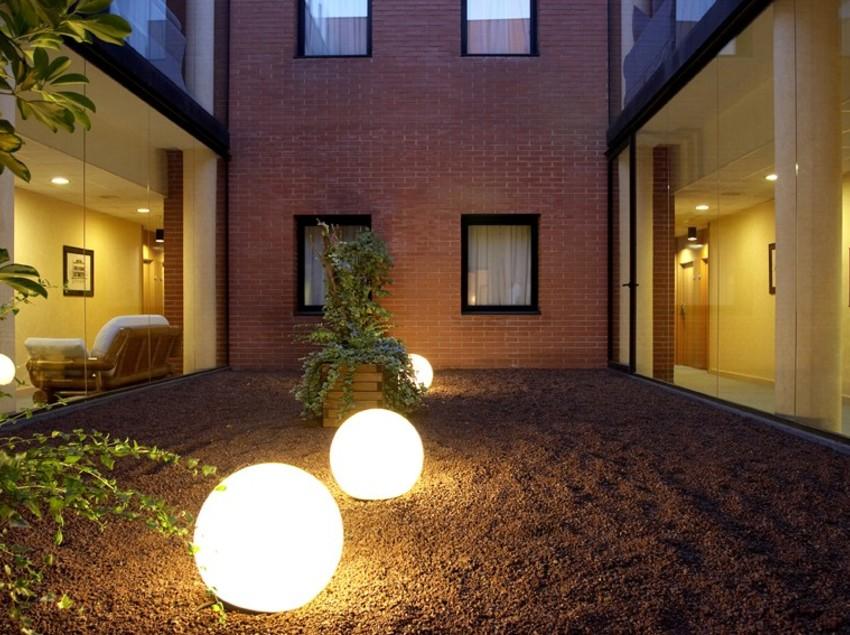 Pati interior de l'hotel Terrassa Park   (Imatge cedida per l'hotel Terrassa Park)