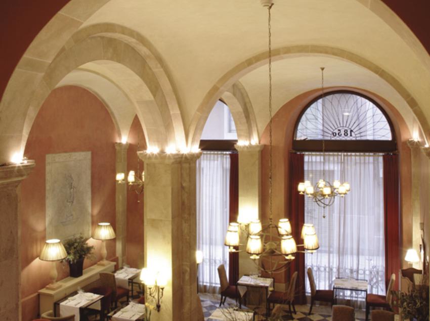 Restaurant de l'hotel Duquesa de Cardona   (Imatge cedida per l'hotel Duquesa de Cardona)