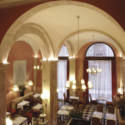 Restaurante del hotel Duquesa de Cardona   (Imatge cedida per l'hotel Duquesa de Cardona)