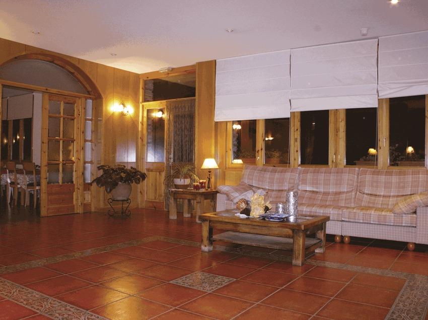 Recepció de l'hotel Estanys Blaus   (Imatge cedida per l'hotel Estanys Blaus)