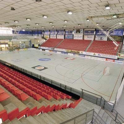 Interior del poliesportiu municipal    (Foto-tècnia fotògrafs)