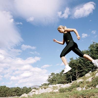 Exercici físic a la muntanya   (Foto-tècnia fotògrafs)
