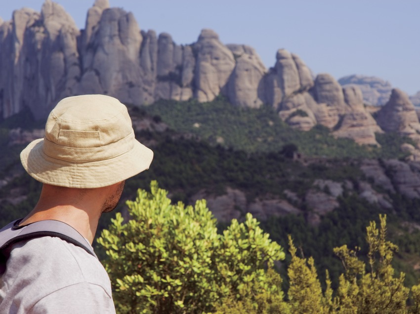 Siguiendo el Camino de Santiago por Montserrat (Javier Miguélez Bessons)