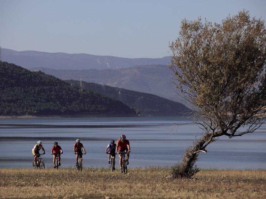 Ruta BTT del Pallars Jussà, pasando por el pantano de Talarn (Cablepress)