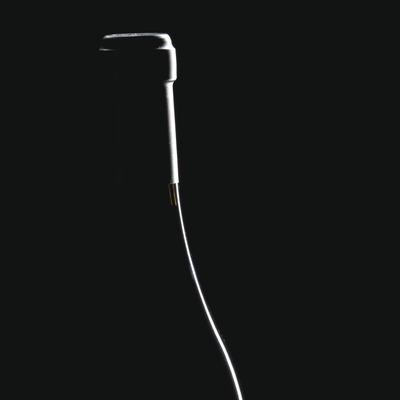 Silueta d'una ampolla de vi  (Imagen M.A.S.)