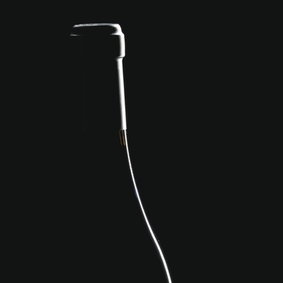 Silueta de una botella de vino  (Imagen M.A.S.)