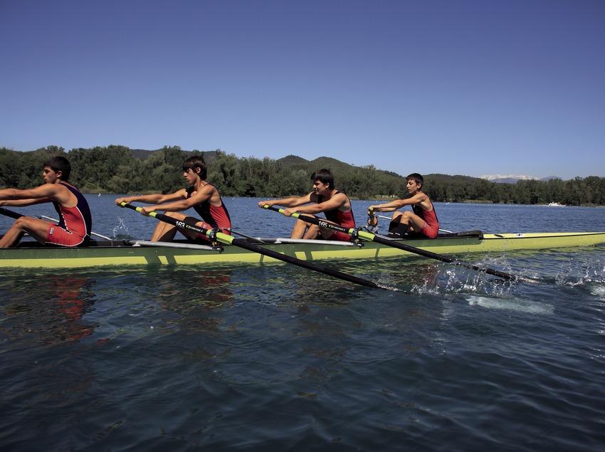 Гребля на озере Баньолес