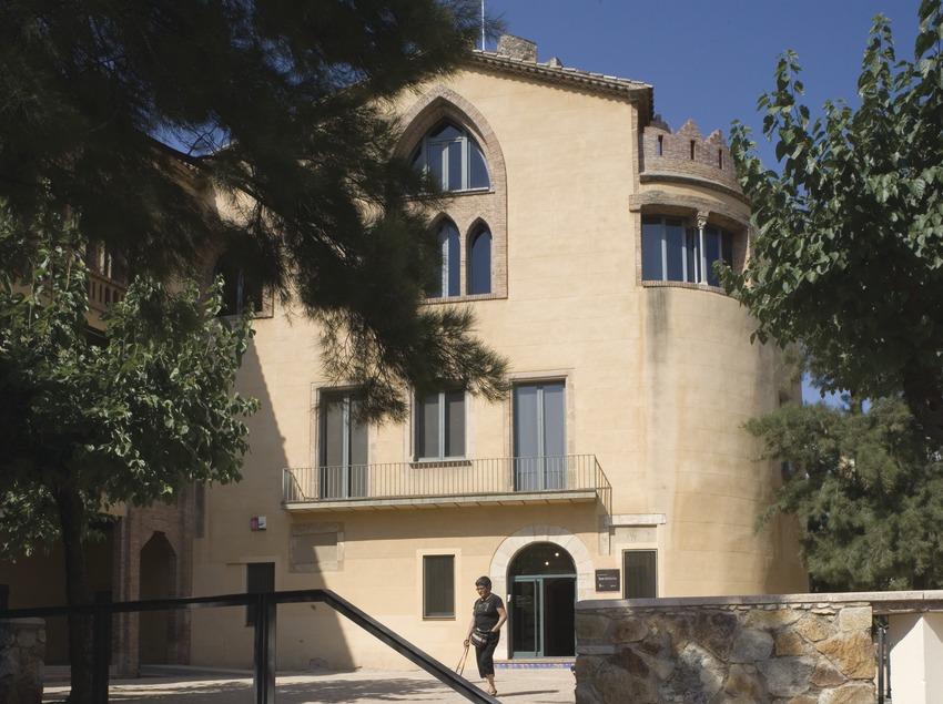 Museu Torre Balldovina. Façana  (Imagen M.A.S.)