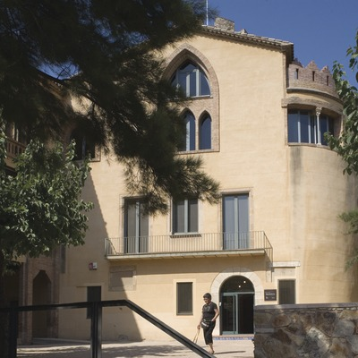 Museu Torre Balldovina. Fachada  (Imagen M.A.S.)