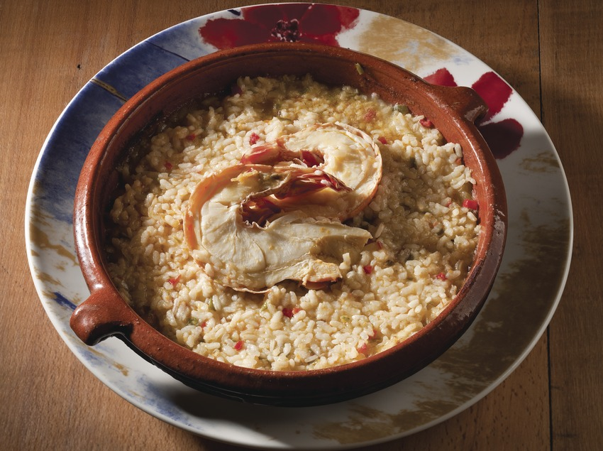 Arroz con cigala
