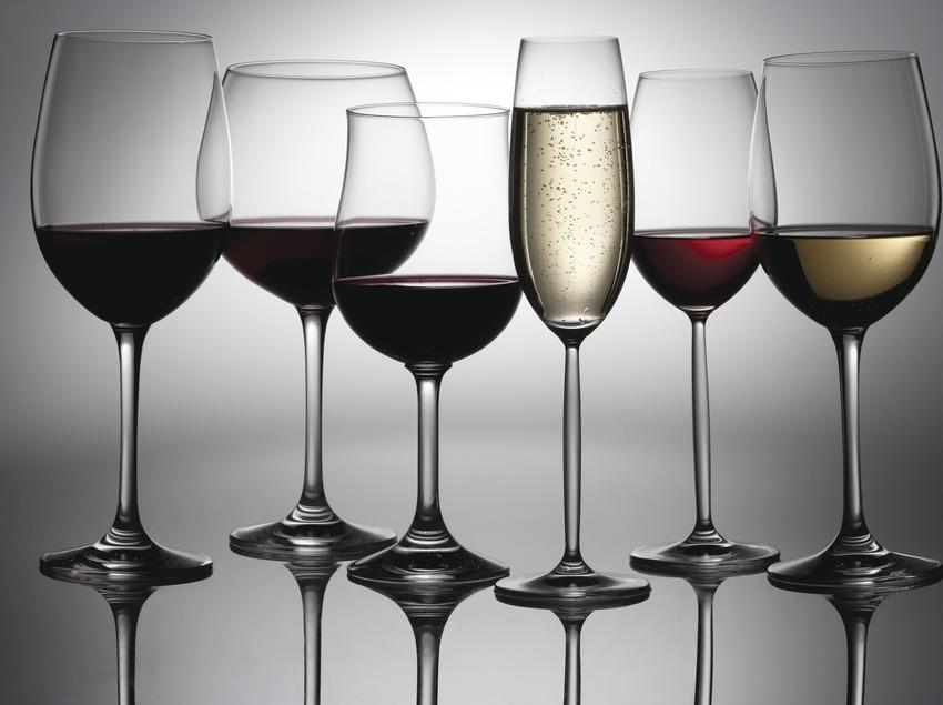 Copas de vino y de cava