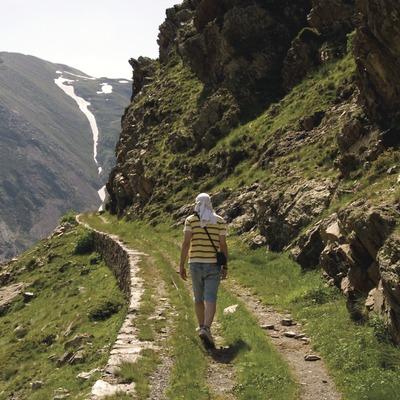 El Cinquè Llac. Through shepherd's routes