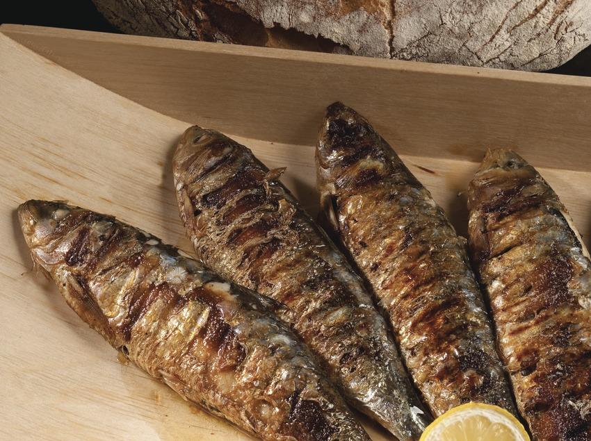 Sardines a la brasa