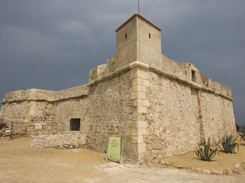Castillo de Sant Jordi de Alfama (Nano Cañas)