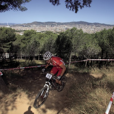 Ruta BTT per la muntanya de Montjuïc (Cablepress)