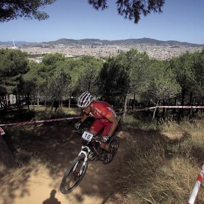 Ruta BTT per la muntanya de Montjuïc