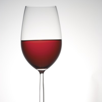 Copa de vi rosat