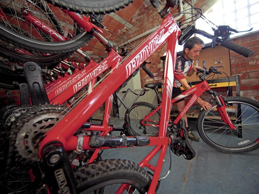Taller de reparació de bicicletes
