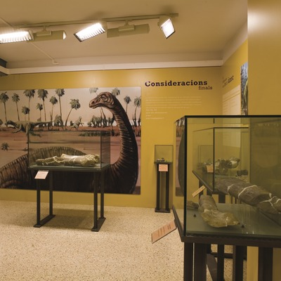 Museu Conca Della. Sala de Prehistòria  (Imagen M.A.S.)