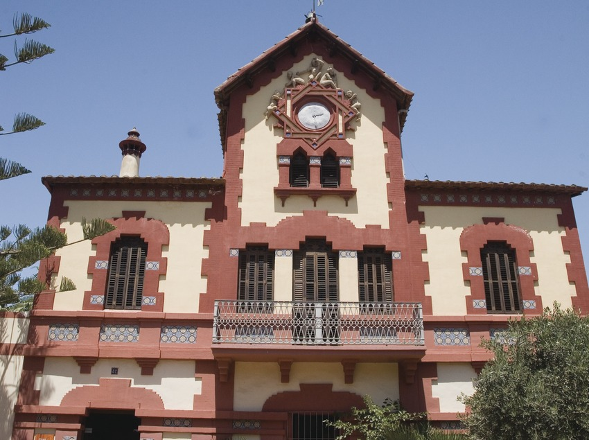Fachada del museo de la Marina de Vilassar  (Imagen M.A.S.)